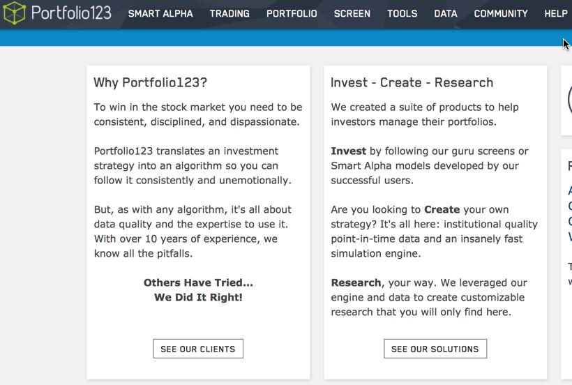 portfolio123